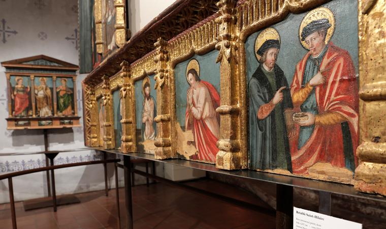 Exposition du Centre de Restauration et de conservation du patrimoine