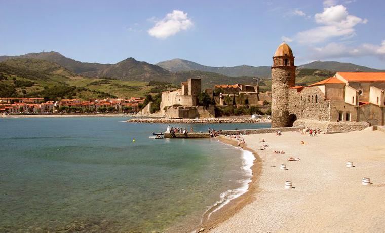 Le château Royal de Collioure sur la côte Vermeille