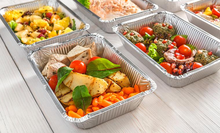 Des repas équilibrés peuvent être livrés au domicile de la personne
