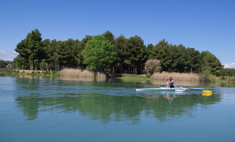 Lac de la raho - kayak
