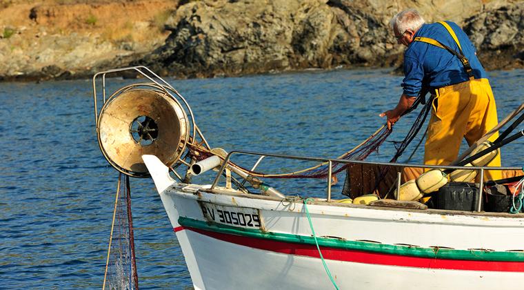 Pêcheur professionnel - Réserve Marine