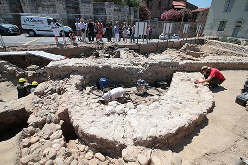 Les fouilles du plateau des Garaffes - Elne